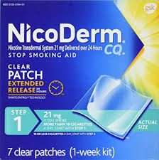 NICODERM CLEAR 21MG              7'S