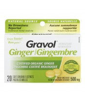 Gravol Ginger Nat Source SFT Loz (20)