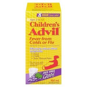 ADVIL CHILD DYE FREE SUSP GRP  100ML