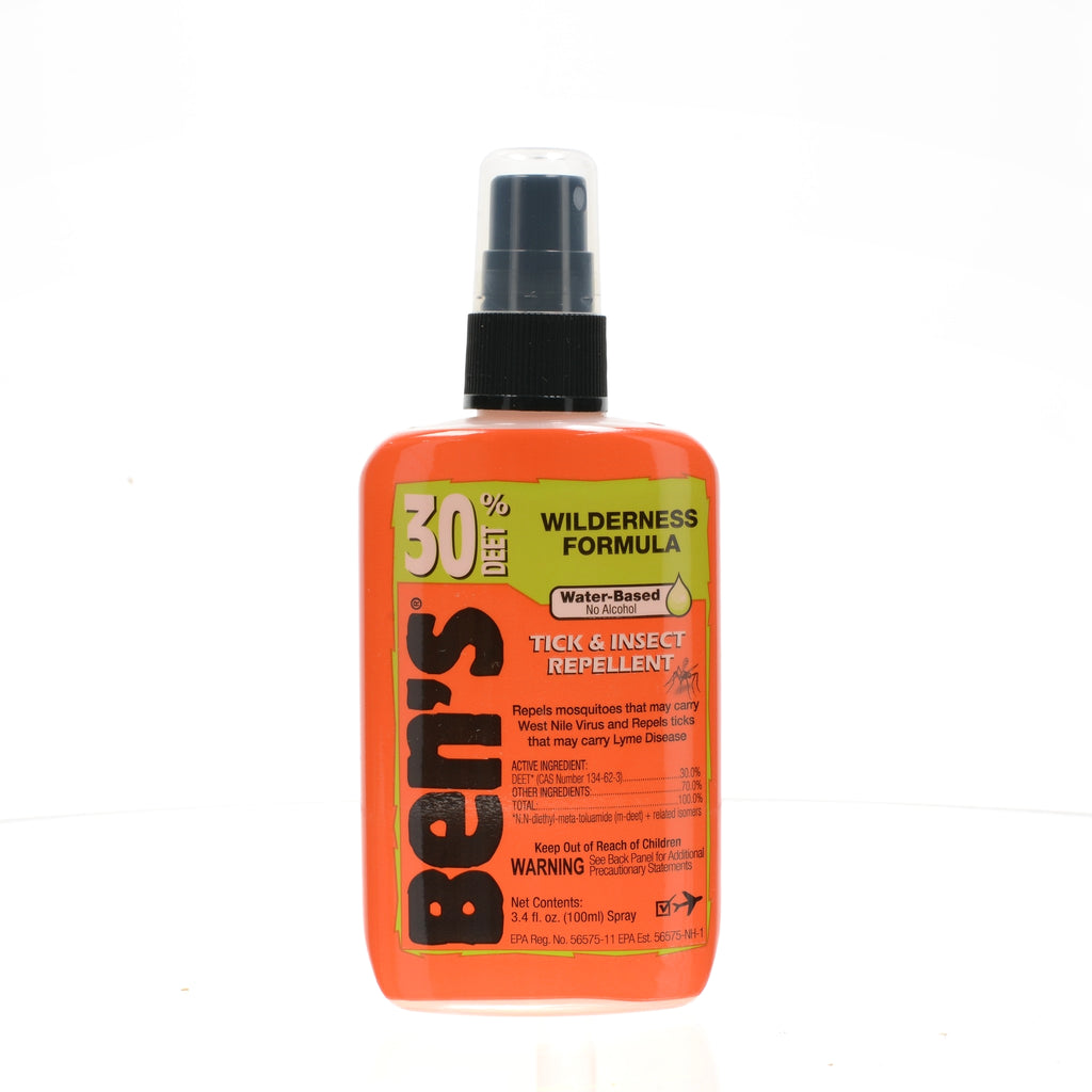 Bens Deet 30 Tick & Insect Repellent 3.4 oz. Pump Spray