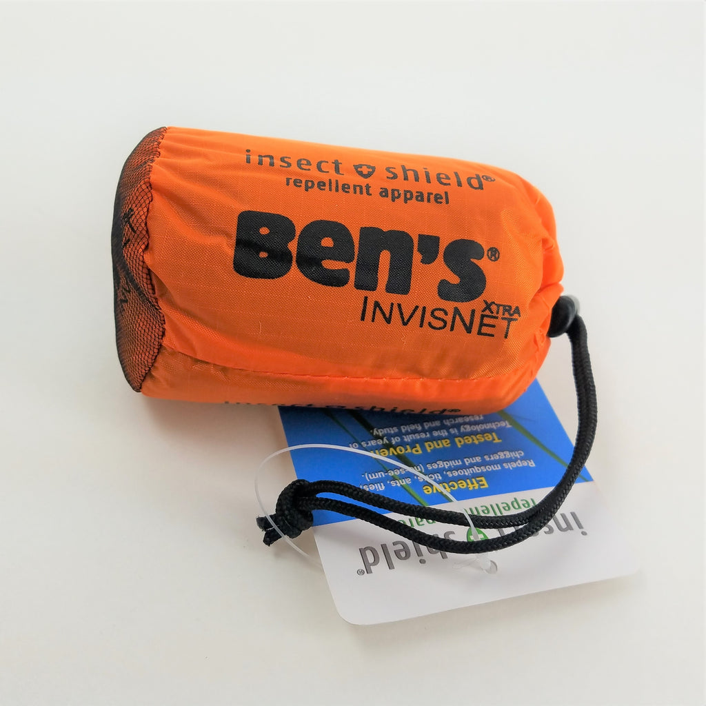 Bens invisinet Xtra  with insect shield shown in duffel