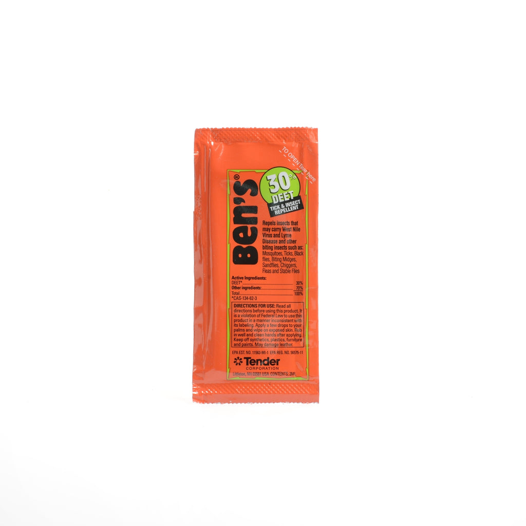 Bens Deet 30% Single Use Pack