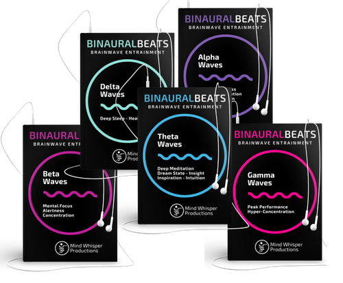 binaural beats alpha, beta, delta, gamma, theta