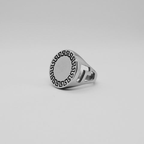 AZTEC FLAT TOP RING