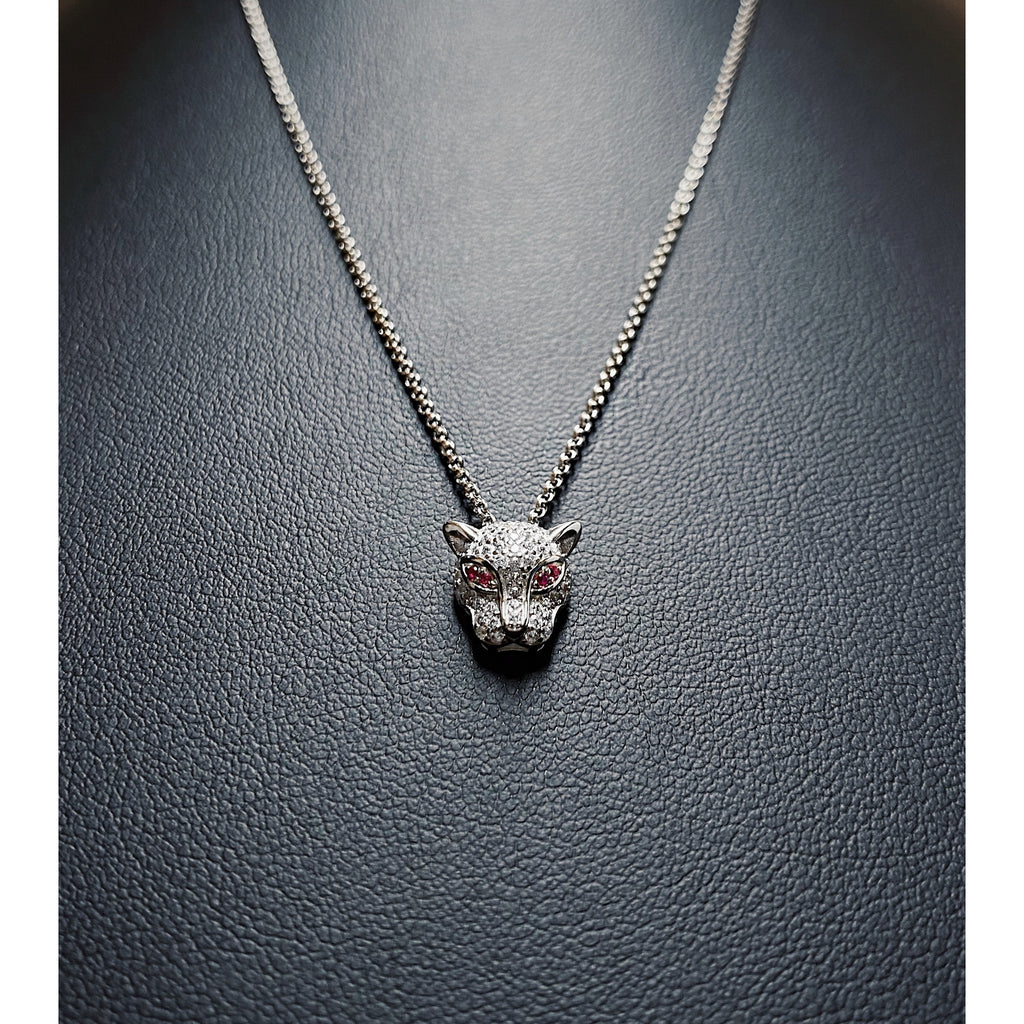Icy Panther Necklace