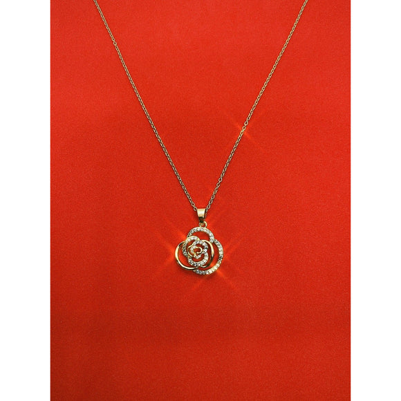 Icy Rose Necklace