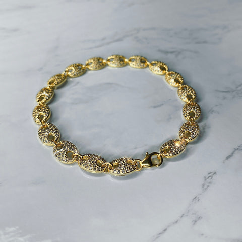 Diamond Gucci Bracelet