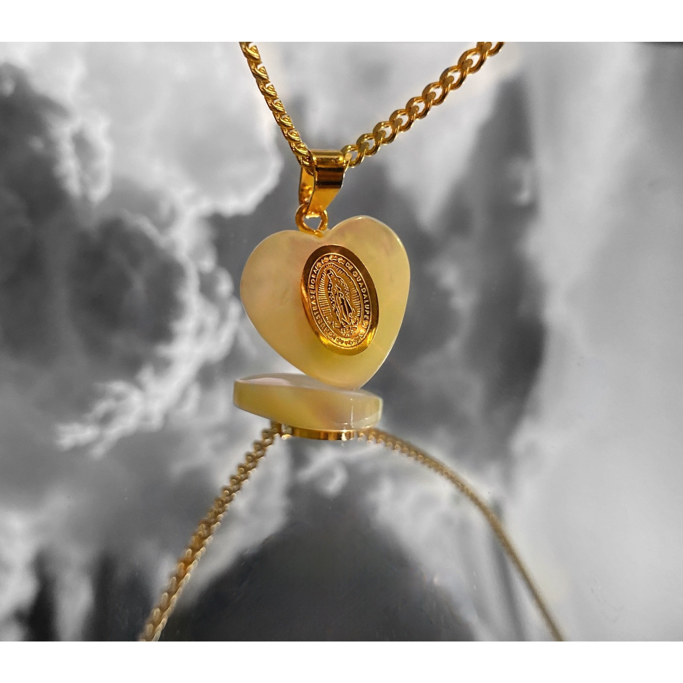 The Heart of Virgen Mary Necklace