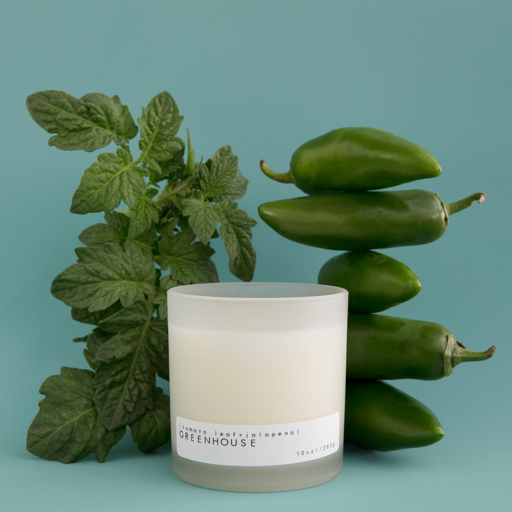 Greenhouse Candle by Billy Del Puerto