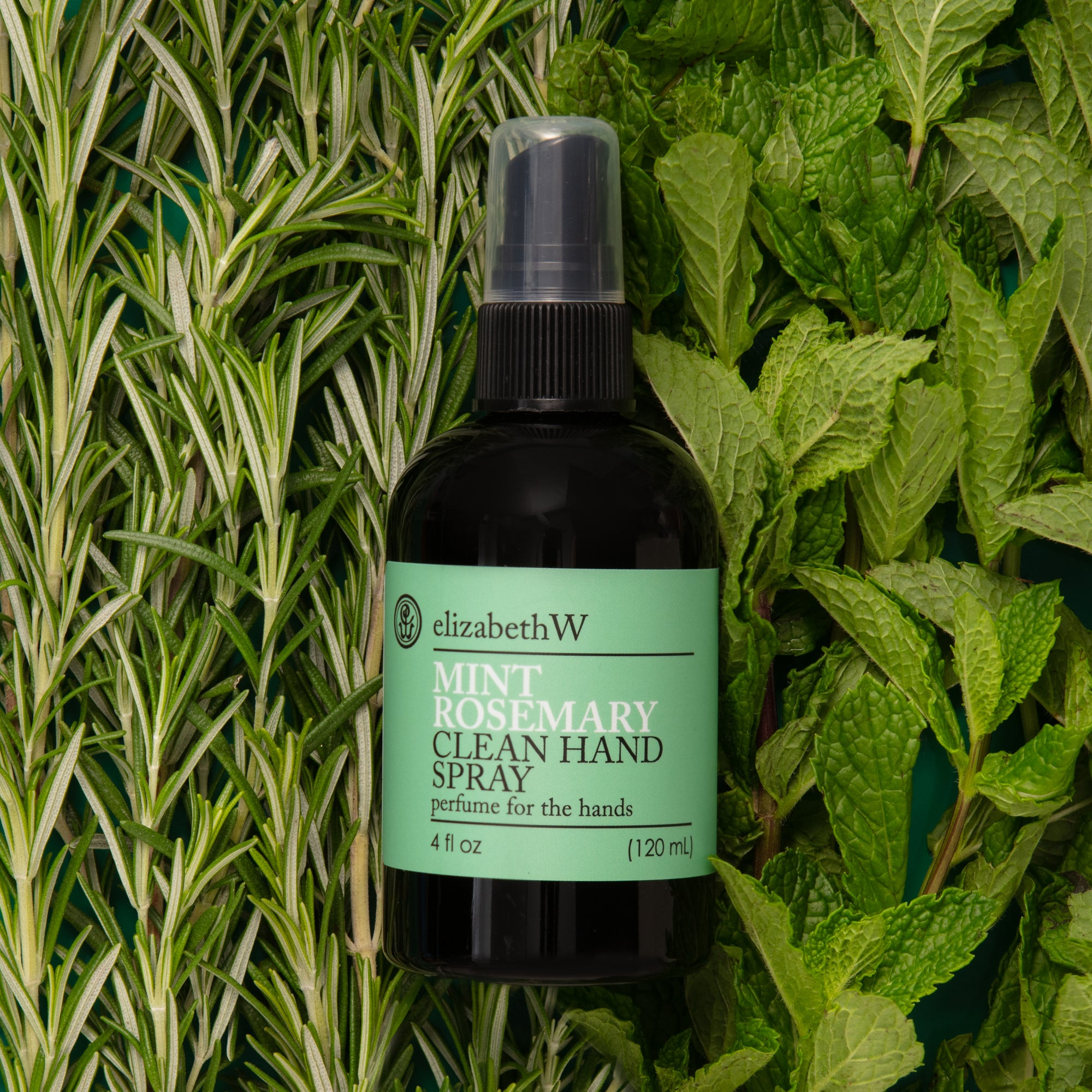 Mint Rosemary Clean Hand Spray by elizabeth W