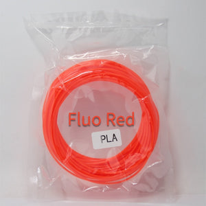Pla 1.75mm Filament Printing Materials Plastic For 3d Printer Extruder Pen Accessories 10 Meter Black White Red Colorful Rainbow