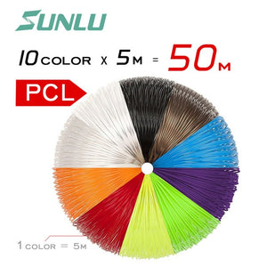 SUNLU SL-300A 3d pen Original Manufacturer Intelligent safety Temperature 3D Printing Pen with ABS/PLA/PCL Filament Toy Gift