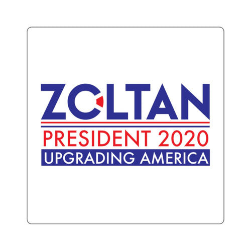Zoltan 2020 Square Stickers