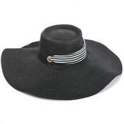 Bolero Hat With Striped Ties - Charming Charlie
