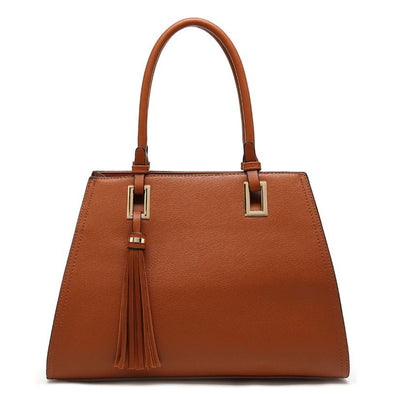 Satchel Bag With Tassel