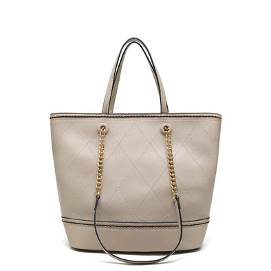 Eastwest Tote Bag With Chain Handle