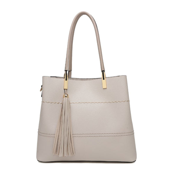 Tote With Tassel Detail Bag