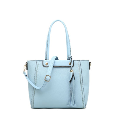 E/W Tote With Detachable Shoulder Strap