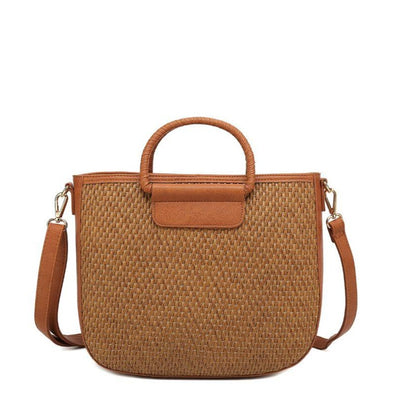 Tote Shaped Crossbody Bag