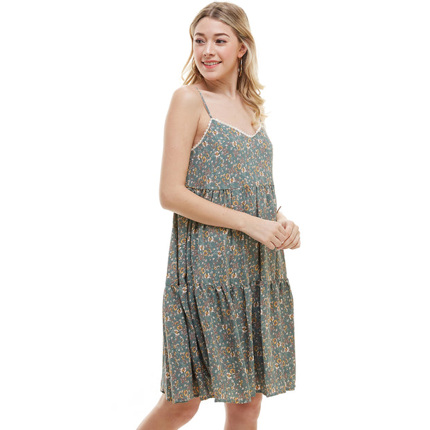 Ditsy Floral Tank Dress - Charming Charlie