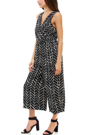 Tribal Print Jumpsuit - Charming Charlie