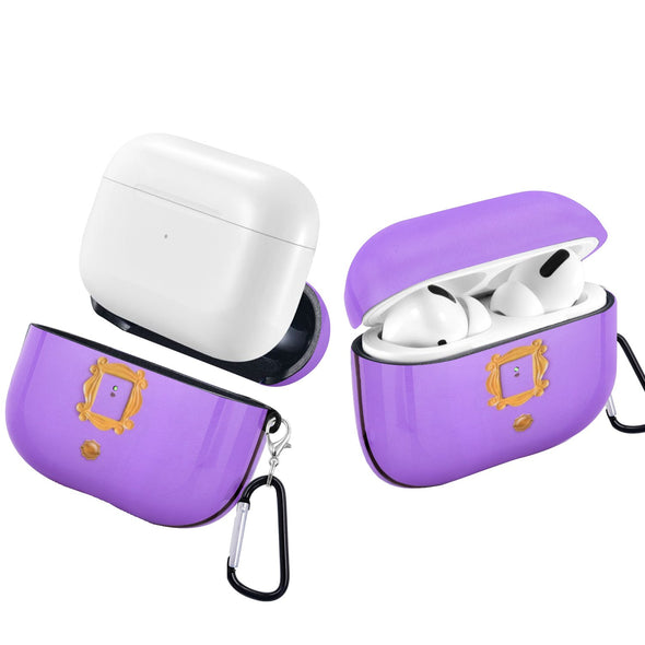 Friends Purple Door Gold Apple AirPods Pro Case