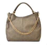 Slouchy Hobo w/ Chain Detail - Charming Charlie