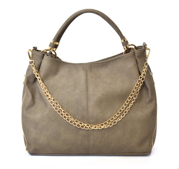 Slouchy Hobo w/ Chain Detail