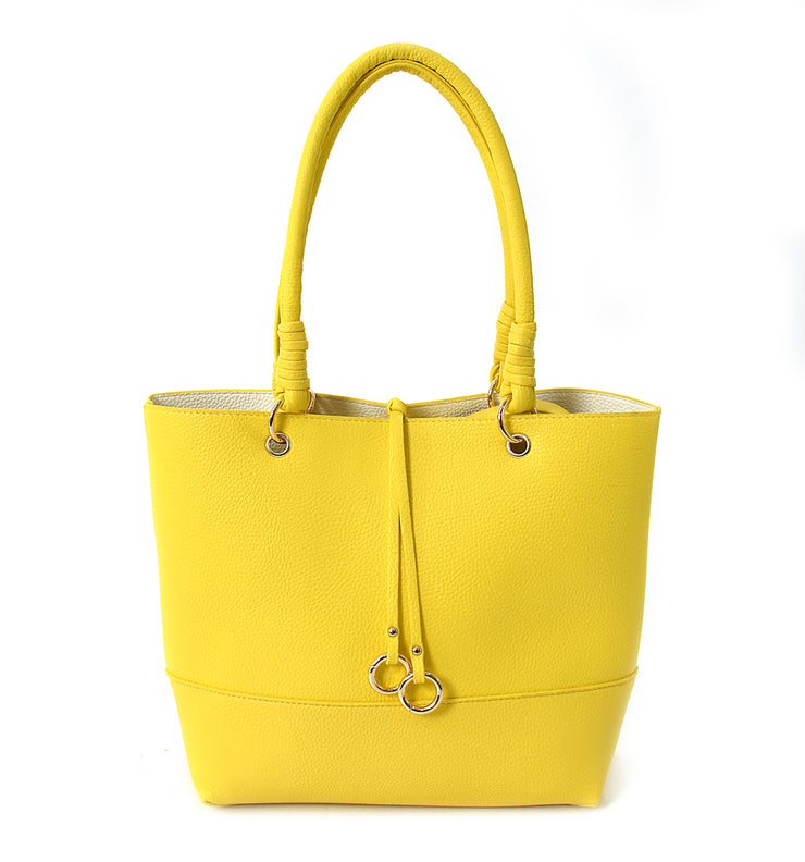 Yellow Bag in Bag Tote