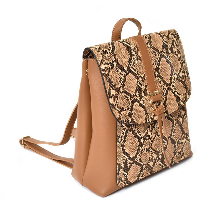 Contemporary Front Flap Backpack