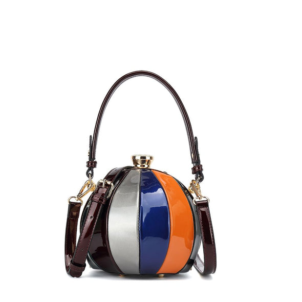 Patent Small Circle Frame Crossbody