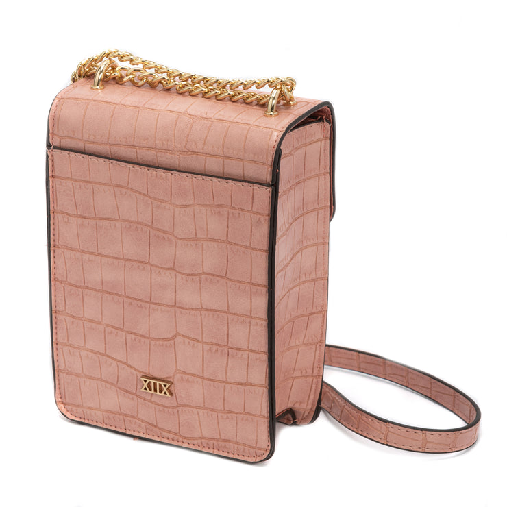 Crocodile Mini Tech Crossbody - Charming Charlie