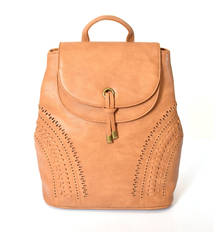 Double Flap Backpack - Charming Charlie