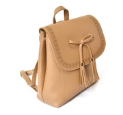 Bow Front Laser Cut Backpack - Charming Charlie