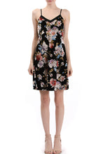 Load image into Gallery viewer, V-Neck Cami Floral Dress