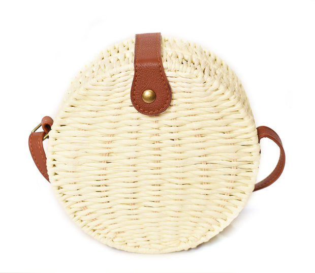Straw Canteen Crossbody