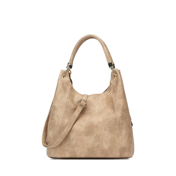Slouch Textured Hobo Bag