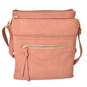 Tall Multi-Compartment Crossbody
