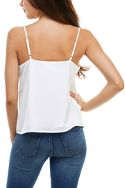 Simple Tank with Tonal Strip Detail - Charming Charlie