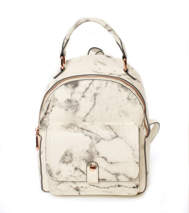 Medium Marble Backpack