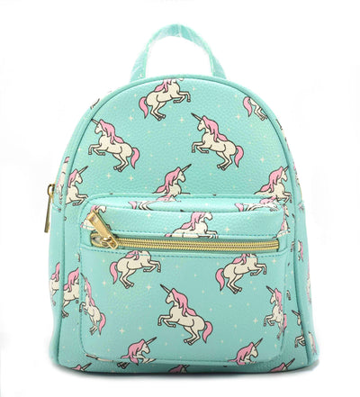 Kids Unicorn Backpack Front Pocket - Charming Charlie