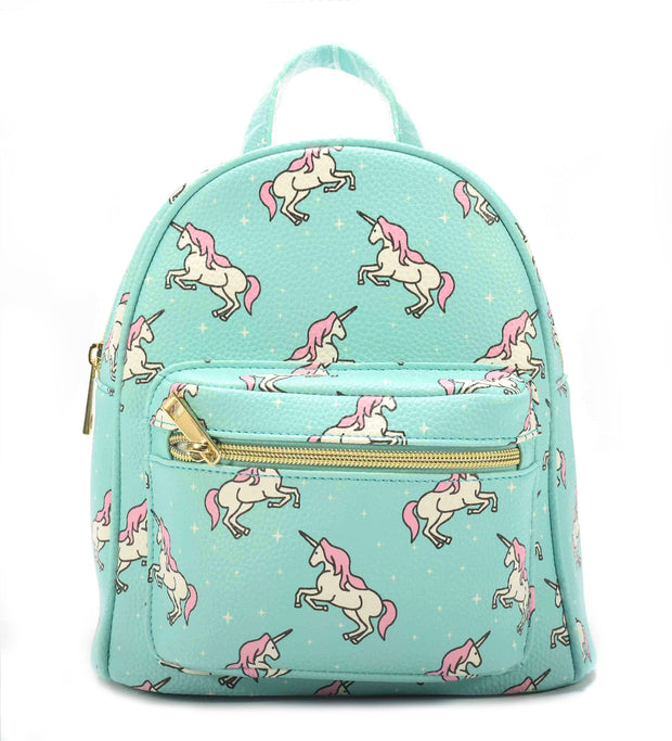 Kids Unicorn Backpack Front Pocket