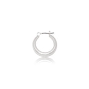 Tapered Small Huggie Hoop Earrings