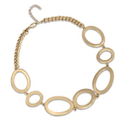 Statement Chain Collar Necklace