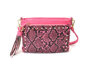 Crossbody Bag w/ Snake Pocket