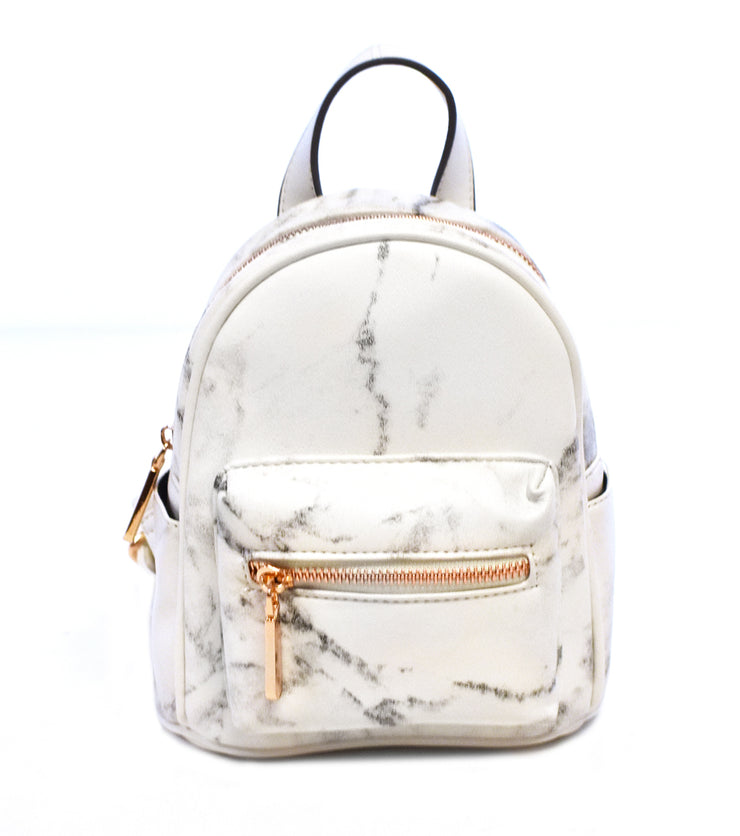 Mini Marble Backpack - Charming Charlie