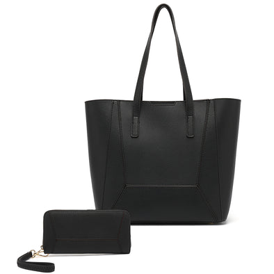 N/S Tote With Wallet