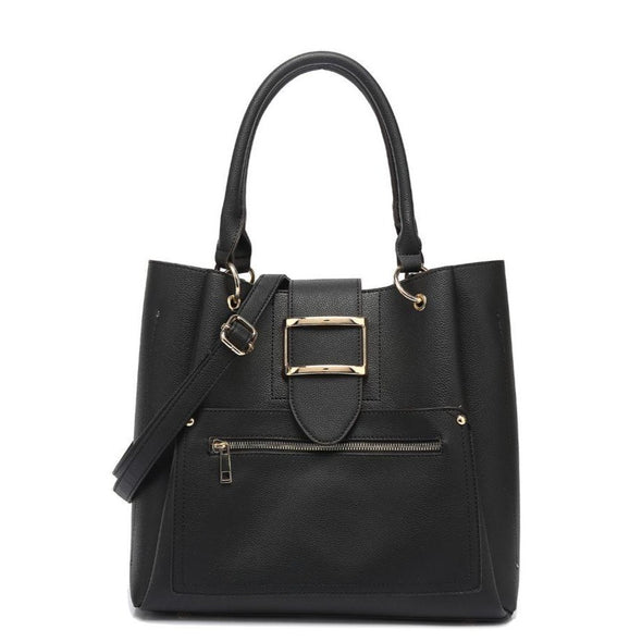 North/South Buckle Tote
