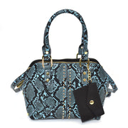 Mini Snake Dome Satchel Bag