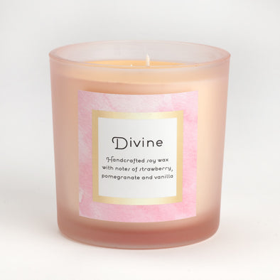 Divine Soy Wax Candle - 18 oz.
